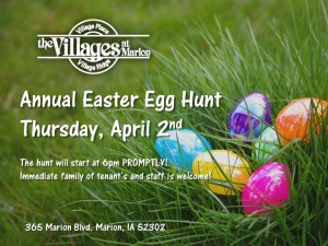 The Villages at Marion 2015 Easter Egg Hunt