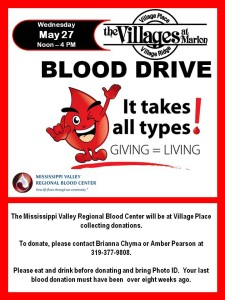 2015 Blood Drive May